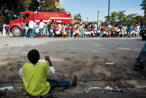 Le nouvel afrique mensuel d informations un regard for Acheter une maison en haiti